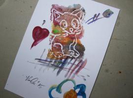 Jak malować obrazki za pomocą ... styropianowej tacki