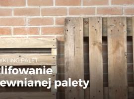 Jak oczyścić i wyszlifować paletę drewnianą