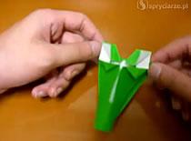 Jak złożyć głowę krokodyla - origami