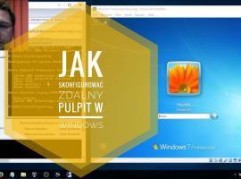Jak uruchomić zdalny pulpit w Windows