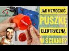 Jak wzmocnić puszkę elektryczną w ścianie