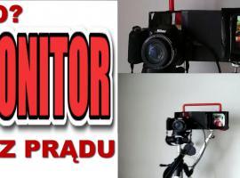 Jak zrobić monitor do aparatu -  monitor podglądowy