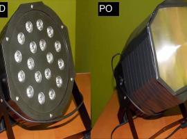 Jak zrobić par led - modyfikacja reflektora