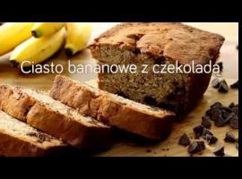 Jak zrobić bananowe ciacho z czekoladą
