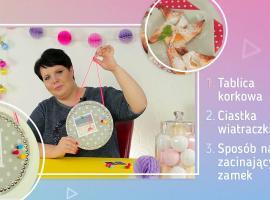 Jak zrobić coś do domu - tablica, ciastka i lifehack