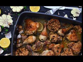 Jak przygotować świetny obiad - kurczak pieczony z cytrynami