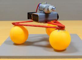 Jak zrobić robota ... na piłeczkach ping pongowych