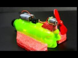Jak zrobić elektryczna łódkę do zabawy