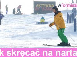 Jak skręcać na nartach zjazdowych