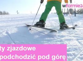 Jak podchodzić pod górkę na nartach zjazdowych