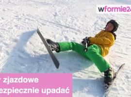 Jak bezpiecznie upadać na nartach
