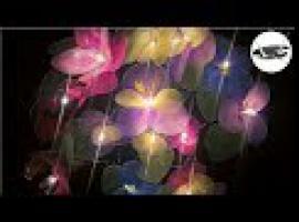 Jak zrobić coś z niczego - świecące kwiatki z rajstop