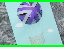 Jak zrobić coś fajnego z papieru - trójwymiarowy balon