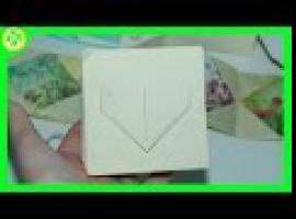 Jak zrobić ramkę i album na zdjęcia - origami
