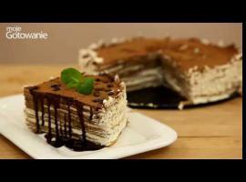 Jak zrobić tort tiramisu z naleśników