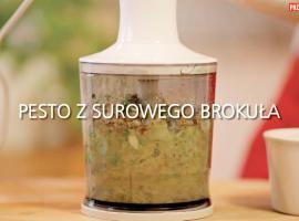 Jak zrobić pesto z surowego brokuła