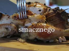 Jak zrobić kurczaka faszerowanego wątróbką