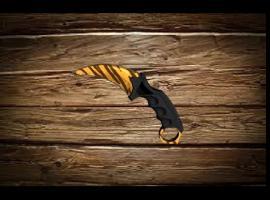 Jak zrobić karambit z drewna - rekwizyt z CS GO