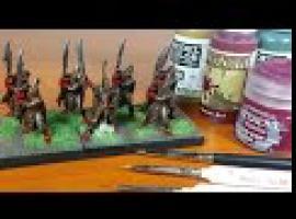 Jak malować figurki - Elf Palace Guard
