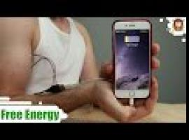 Jak ładować telefon ciepłem swojego ciała