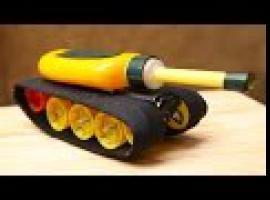 Jak zbudować zabawkowy czołg na silniczku