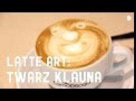 Jak zrobić twarz klauna – latte art
