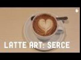 Jak namalować serce - latte art