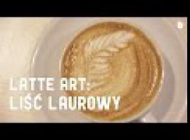 Jak malować na kawie - liść laurowy