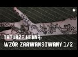 Jak wykonać zaawansowany wzór tatuażu z henny 1/2