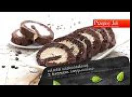 Jak zrobić pyszne ciasto - rolada czekoladowa z kremem cappuccino