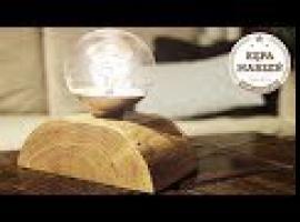 Jak zrobić lampkę nocną z naturalnego drewna