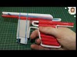 Jak zbudować papierowy pistolet Mauser na 5 strzałów