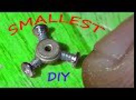 Jak zrobić najmniejszy fidget spinner na świecie