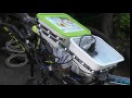 Jak zamontować oświetlenie, GPS i osłony przeciwdeszczowe w rowerze