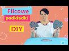 Jak zrobić podkładki z filcu