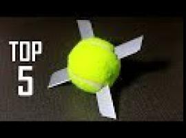 Jak wykorzystać piłeczkę tenisową na 5 sposobów