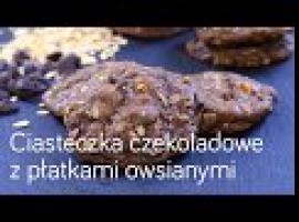Jak zrobić czekoladowe ciasteczka z płatkami owsianymi