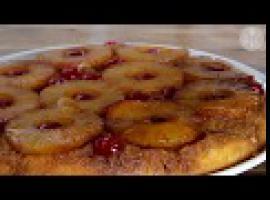 Jak zrobić odwrócone ciasto z ananasem