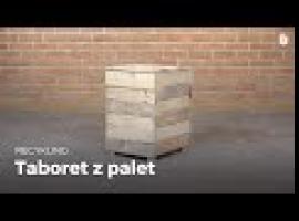 Jak zrobić taboret z drewna paletowego