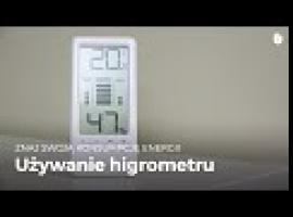 Jak oszczędzać pieniądze w domu - higrometr