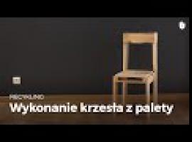 Jak wykonać krzesło z palety drewnianej