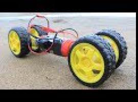 Jak zbudować samochodzik do jazdy po piasku