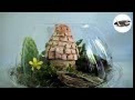 Jak zrobić mini szklany ogródek z domkiem