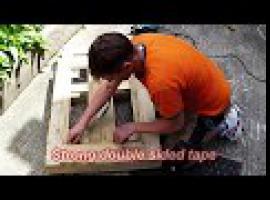 Jak zrobić ramę do lustra z drewnianej palety