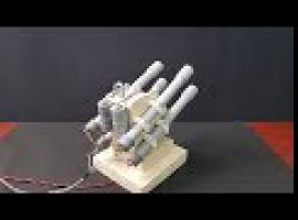 Jak zbudować działającą mini wyrzutnię rakiet