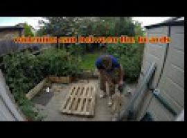 Jak zbudować półkę na buty z drewnianej palety