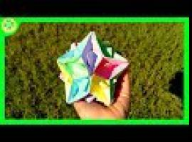Jak zrobić papierową kulę z łódek origami