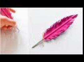 Jak zrobić długopis w kształcie pióra