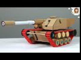 Jak zbudować mega zabawkę - czołg który strzela