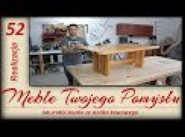 Jak zrobić biurko ze starego stolika kawowego - Meble Twojego Pomysłu
